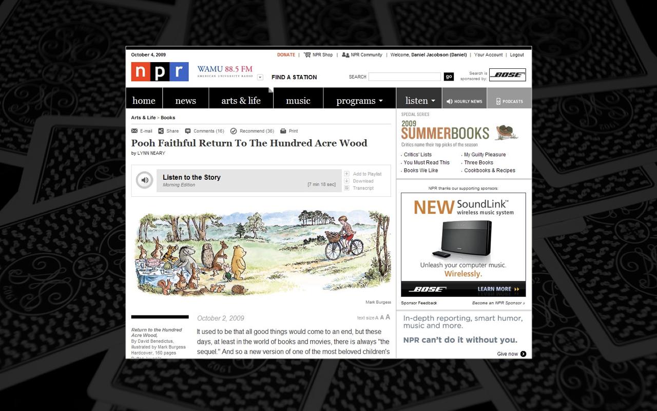 NPR Desktop